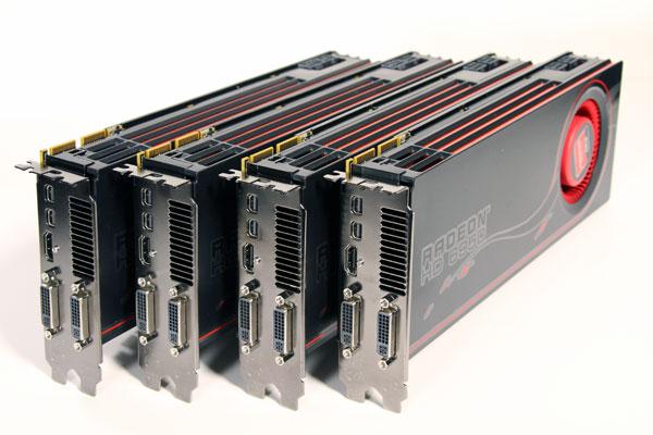 GPU ATI Radeon 6950 Quad Cards