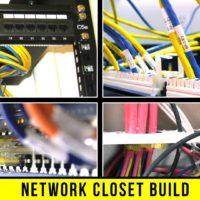 iTechStorm Network Closet Build